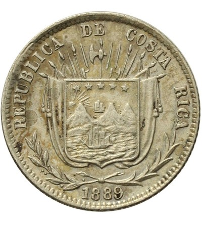 Costa Rica 10 Centavos 1889