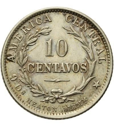 Kostaryka 10 Centavos 1889