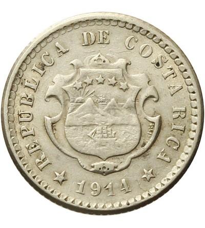 Kostaryka 5 Centimos 1914