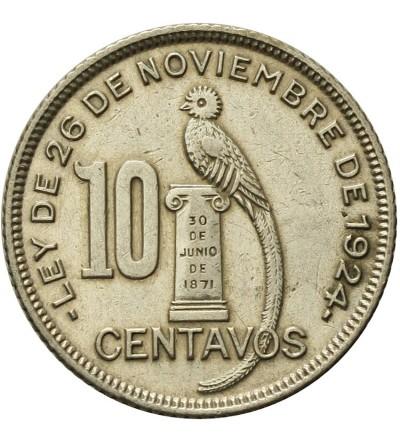 Guatemala 10 Centavos 1932
