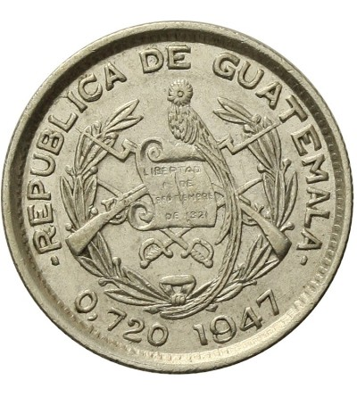 Guatemala 10 Centavos 1947