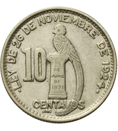 Gwatemala 10 centavos 1947