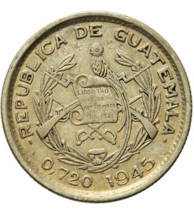 Guatemala 10 Centavos 1945
