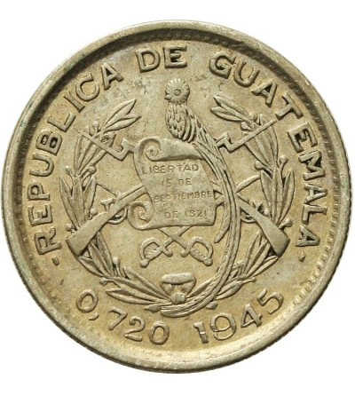 Gwatemala 10 centavos 1945
