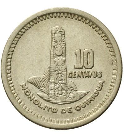 Gwatemala 10 centavos 1956