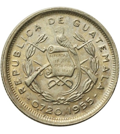Guatemala 10 Centavos 1955