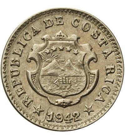 Kostaryka 5 Centimos 1942
