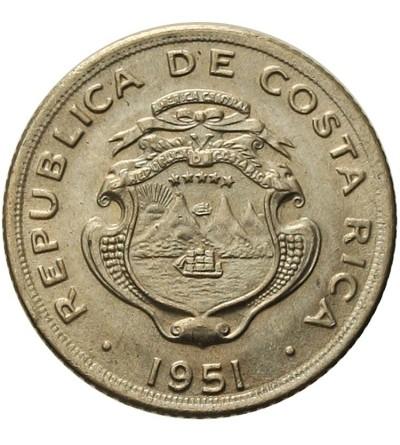 Kostaryka 5 centimos 1951
