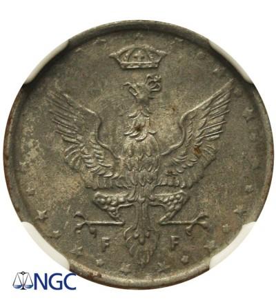 Polish Kingdom. 10 Fenigs 1917. NGC UNC Details