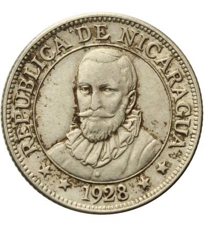 Nicaragua 10 Centavos 1928
