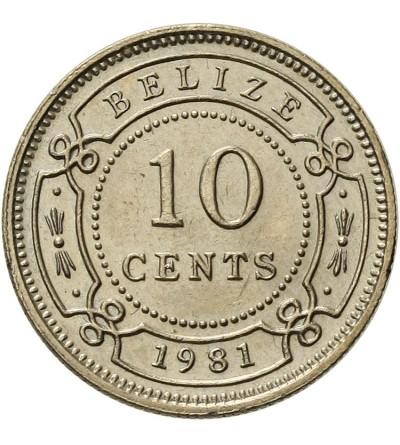 Belize 10 centów 1981