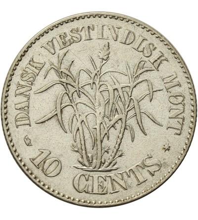 Duńskie Indie Zachodnie 10 centów 1859