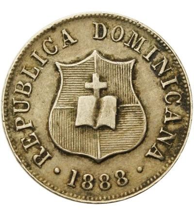 Dominicana 2 1/2 Centavos 1888