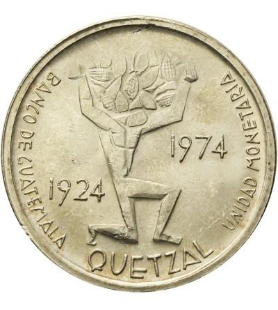 Gwatemala 1 Quetzal 1974