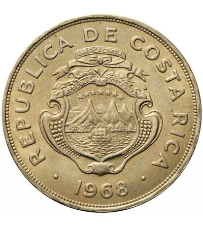 Kostaryka 2 colones 1968