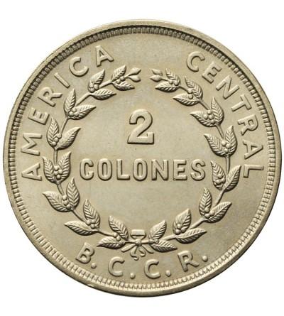 Kostaryka 2 colones 1978