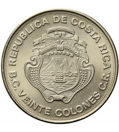 Kostaryka 20 colones 1975