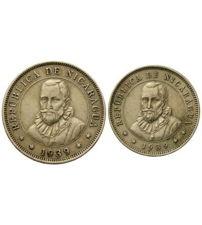Nicaragua 25, 50 Centavos 1939