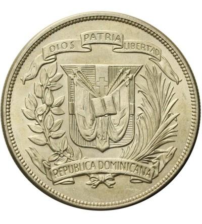 Dominikana 1 peso 1955