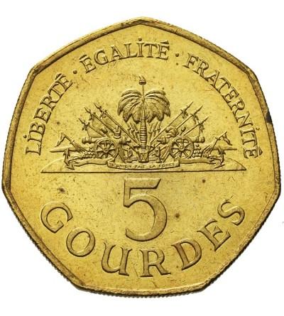 Haiti 5 Gourdes 1995