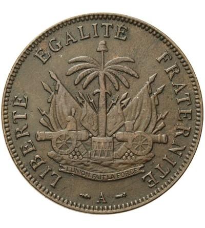 Haiti 2 Centimes 1894