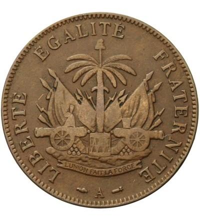 Haiti 2 Centimes 1886