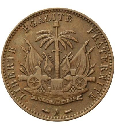 Haiti 1 centime 1886