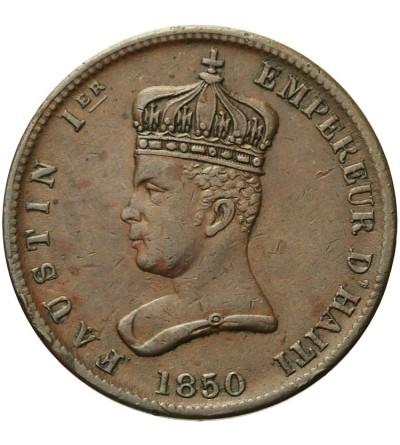 Haiti 6 1/4 centimes 1850