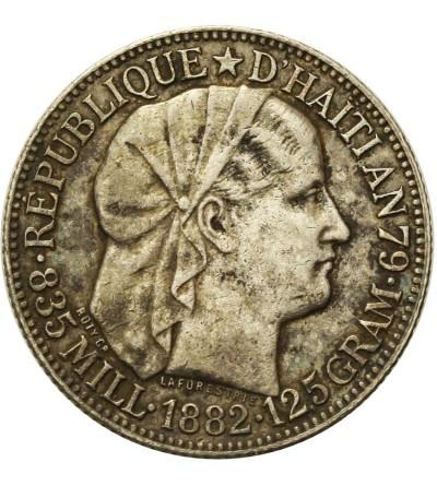 Haiti 50 Centimes 1882