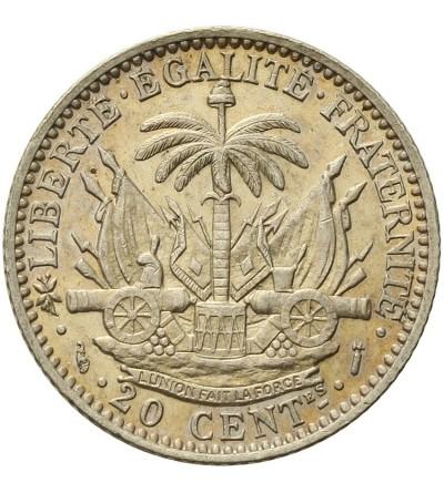 Haiti 20 centimes 1890