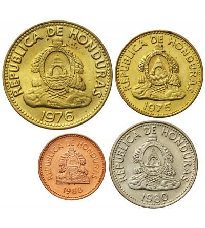 Honduras 1, 5, 5, 10 centavos 1975 - 1988