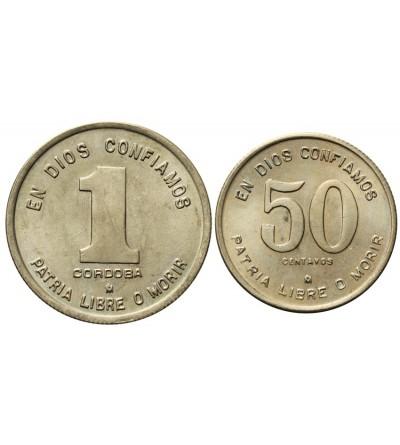 Nikaragua 50 centavos 1 cordoba 1980 - 1983