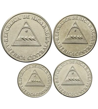 Nicaragua 5, 10, 25, 50 Centavos 1994