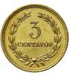 El Salvador 3 Centavos 1973