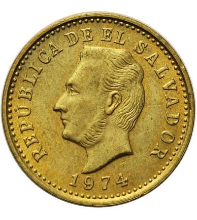 El Salvador Centavo 1973
