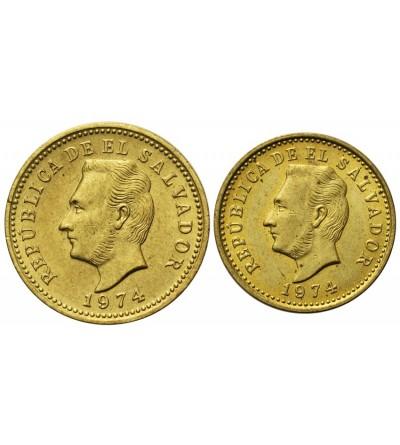 Salwador 1, 2 centavos 1973