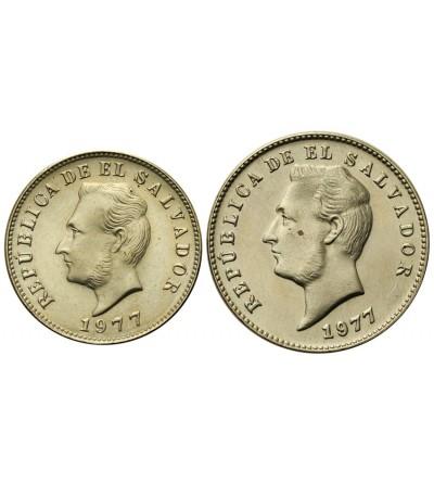 El Salvador 5, 10 Centavos 1977