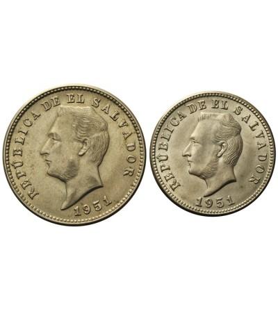Salwador 5, 10 centavos 1951