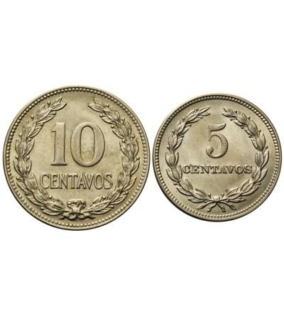 El Salvador 5, 10 Centavos 1951