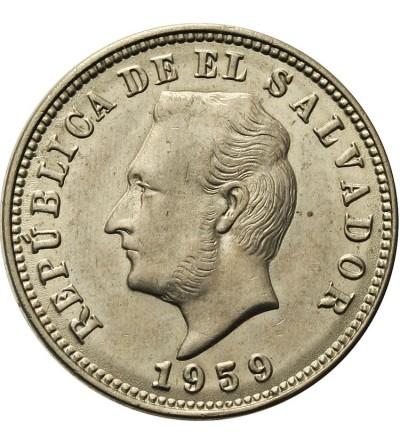 Salwador 5 centavos 1959
