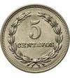El Salvador 5 Centavos 1959