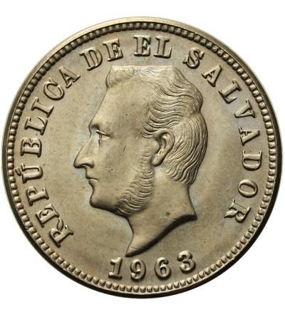 Salwador 5 centavos 1963