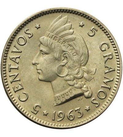 Dominican Republic 5 Centavos 1963
