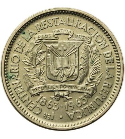 Dominikana 5 centavos 1963