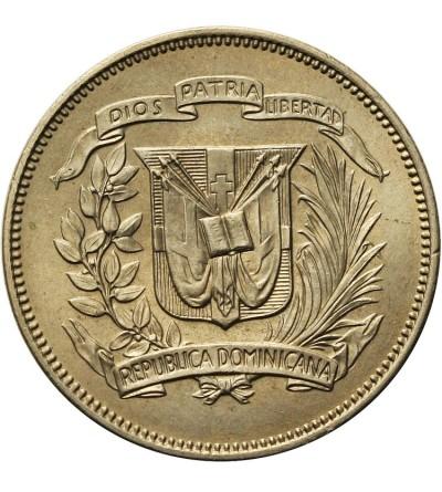 Dominikana 25 centavos 1967