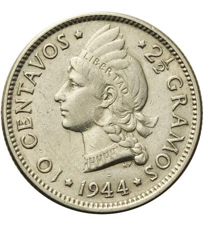 Dominikana 10 centavos 1944