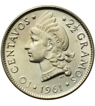 Dominican Republic 10 Centavos 1961