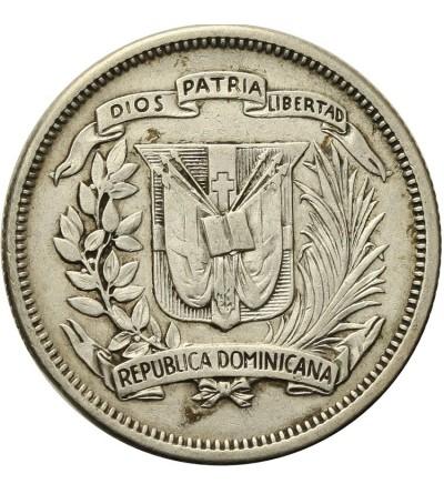 Dominikana 25 centavos 1947