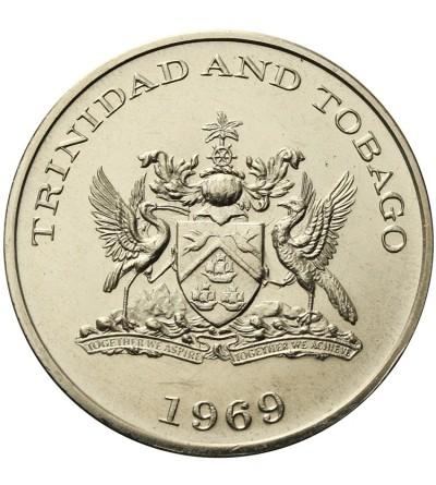 Trinidad & Tobago Dollar 1969