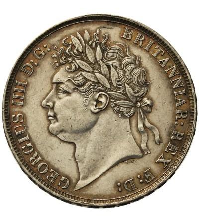 Wielka Brytania 1 korona 1821, SECUNDO